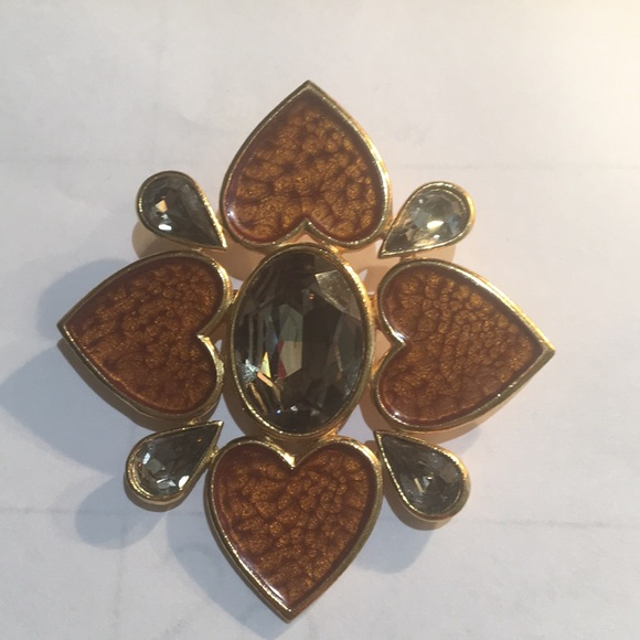 e64c833a182 Yves Saint Laurent Jewelry | Signed Numbered Yves St Laurent Brooch ...